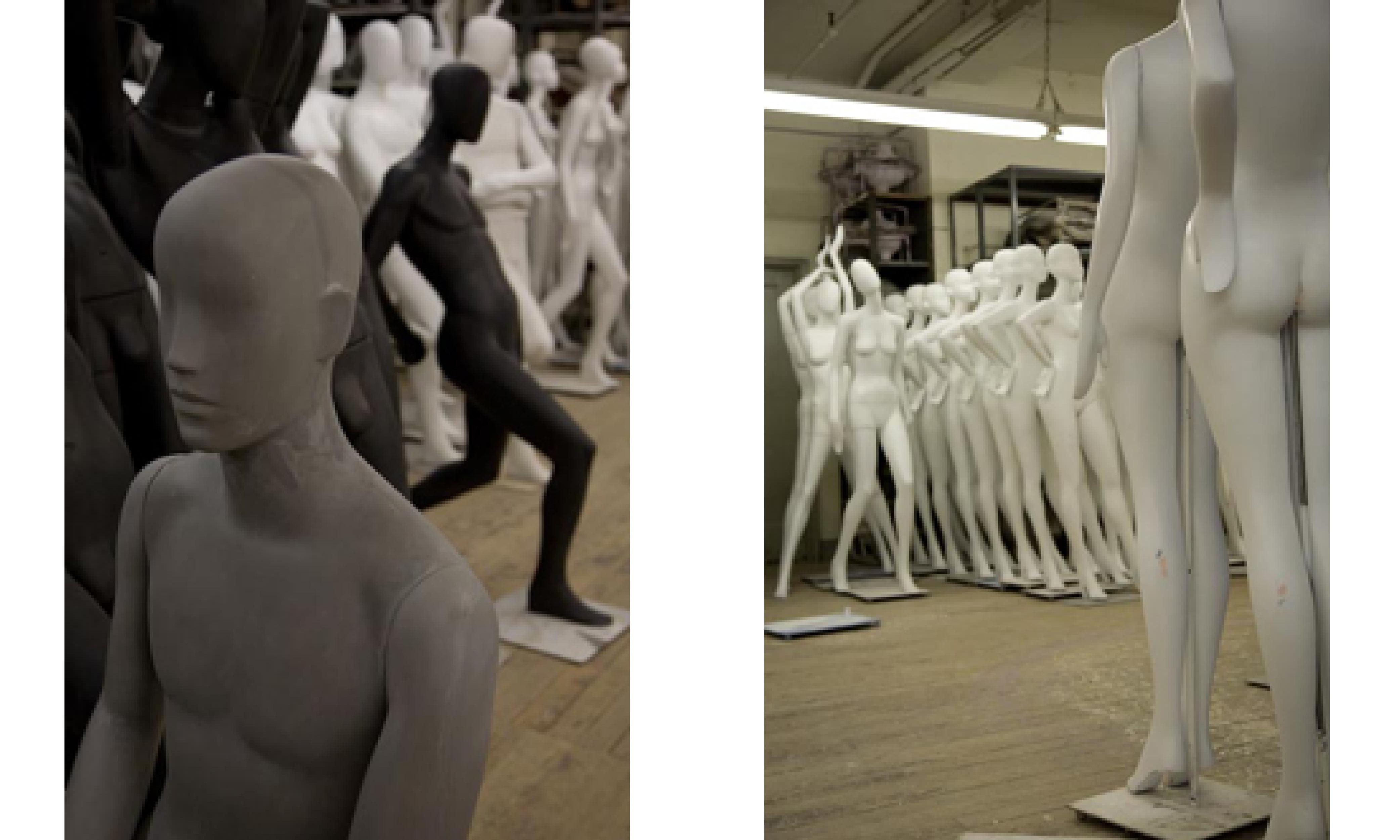 New York mannequin factory for OBJEKT international magazine